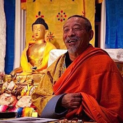 Buddha-Weekly-Zasep Tulku Rinpoche happy at Medicine Buddha event-Buddhism