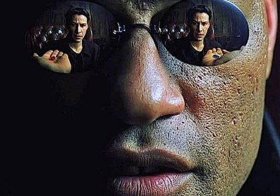 """""""This is your last chance. After this, there is no turning back. You take the blue pill—the story ends, you wake up in your bed and believe whatever you want to believe. You take the red pill—you stay in Wonderland, and I show you how deep the rabbit hole goes."""""""