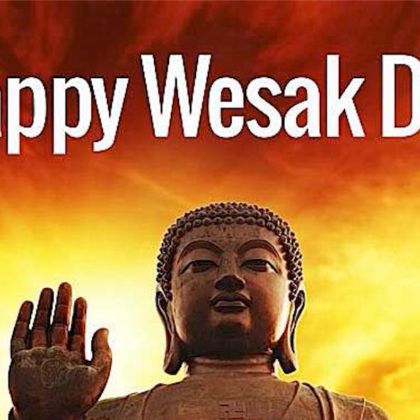 Happy Wesak Day Buddha Weeekly