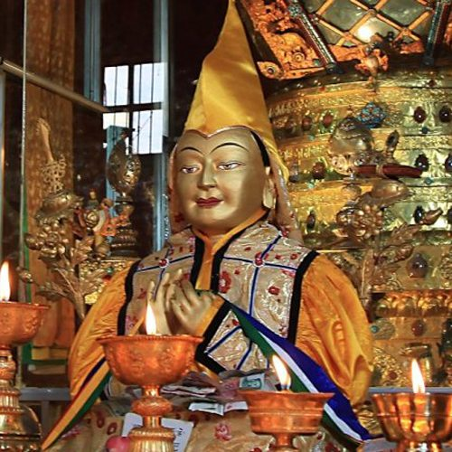 Lama Tsongkhapa Day Butterlamp
