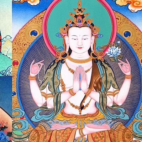 Many Faces of Avaolikiteshvara's compassion