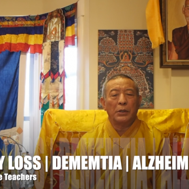 Memory Loss Dementia Alzheimers Advice from Buddhist Teacher Zasep Rinpoche Buddha Weekly