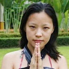 """Namaste is often used in conjunction with the Anjali Mudra as a  greeting, often between Buddhists, however it is equally correct to use Anjali Mudra with """"Welcome"""" or the language of the person greeting or being greeted."""
