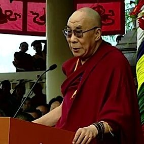 """The Dalai Lama once famously said, """"kindness is my religion."""""""