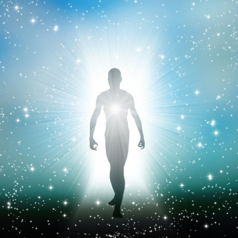 http://www.dreamstime.com/stock-photo-figure-emerges-cosmos-image31178760