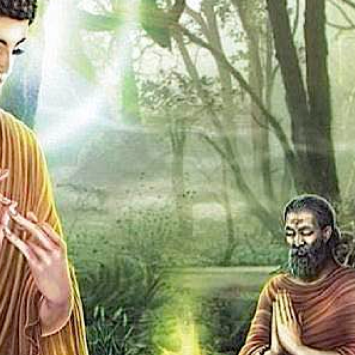 Buddha's first teaching was on the Four Noble Truths and the Eightfold Path.