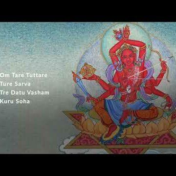 Heroic Red Tara Pravita Tara the first Tara of the 21 Taras in the Surya Gupta System. Video with chanting by Yoko Dharma.