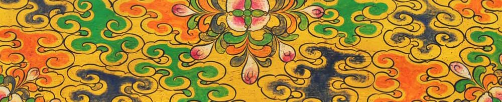 pattern background tibetan 2
