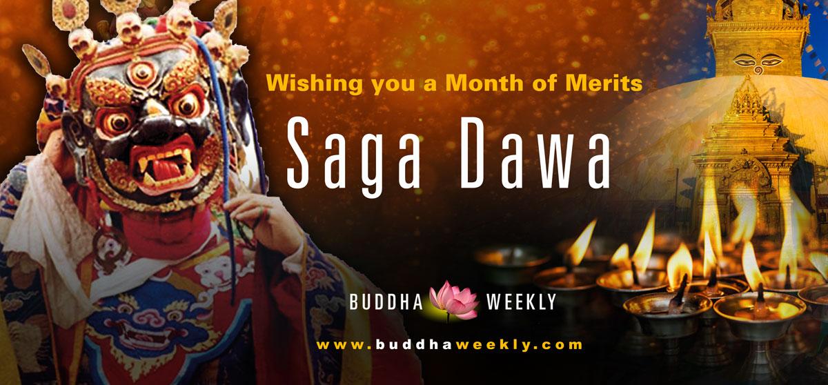 saga Dawa Buddha Buddhas birth englightenment and paranivana Weekly 1200